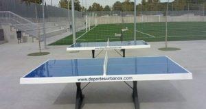 Mesas de ping pong antivandálicas